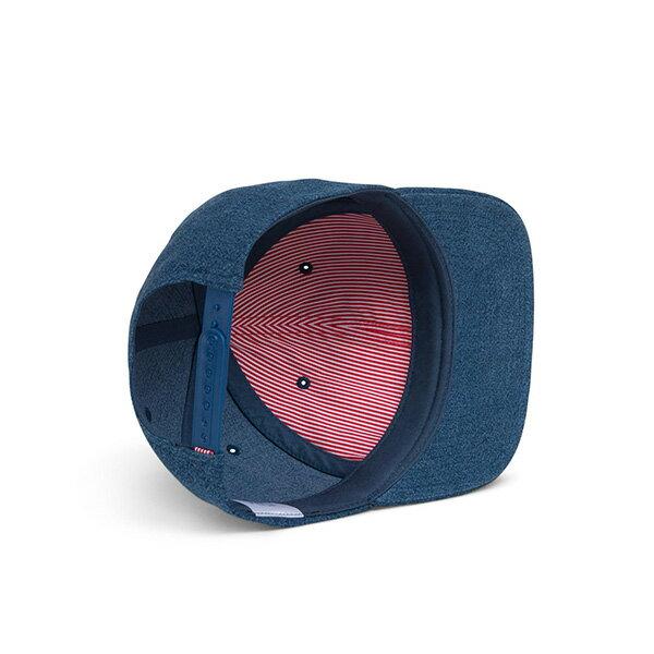 【EST】Herschel Toby 大h 後扣 棒球帽 丹寧 藍 [HS-1041-198] G0422 2