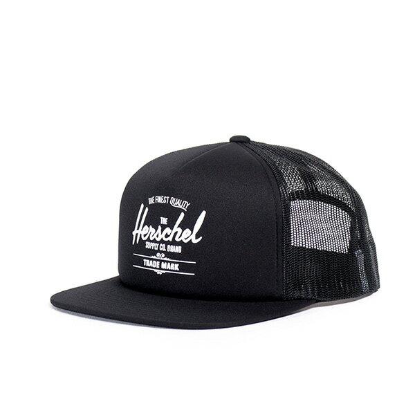 【EST】HERSCHEL WHALER MESH 後扣 網帽 棒球帽 黑 [HS-1047-001] G0128 0