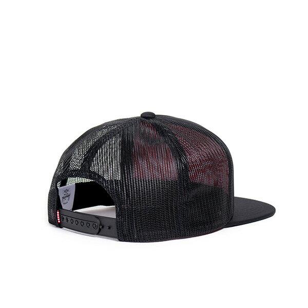 【EST】HERSCHEL WHALER MESH 後扣 網帽 棒球帽 黑 [HS-1047-001] G0128 1