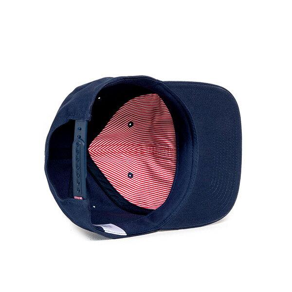 【EST】HERSCHEL WELLS BRITISH 後扣 棒球帽 深藍 [HS-1050-156] G0128 2