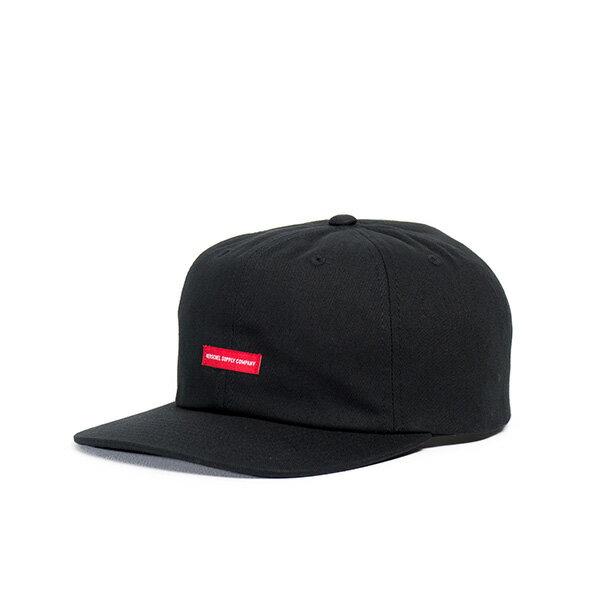 【EST】HERSCHEL TROY 後調式 拚色 棒球帽 黑白 [HS-1051-001] G0128 0