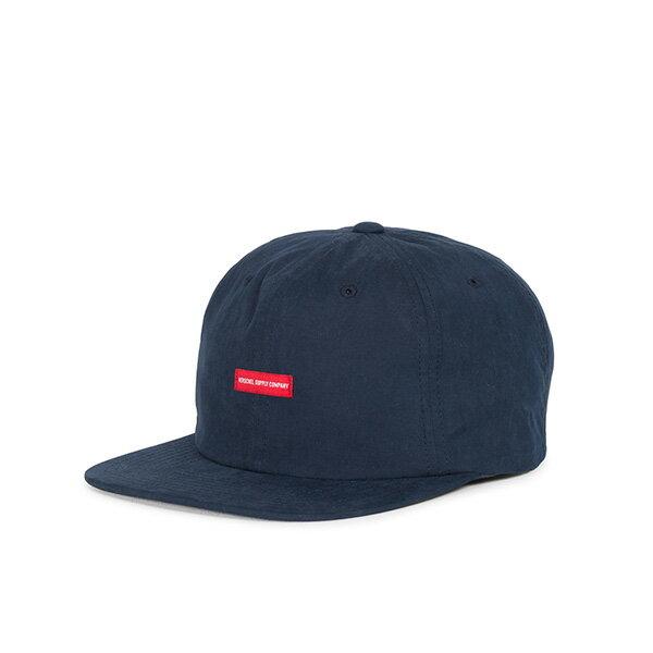 【EST】HERSCHEL TROY 後調式 拚色 棒球帽 藍黑 [HS-1051-166] G0815 0