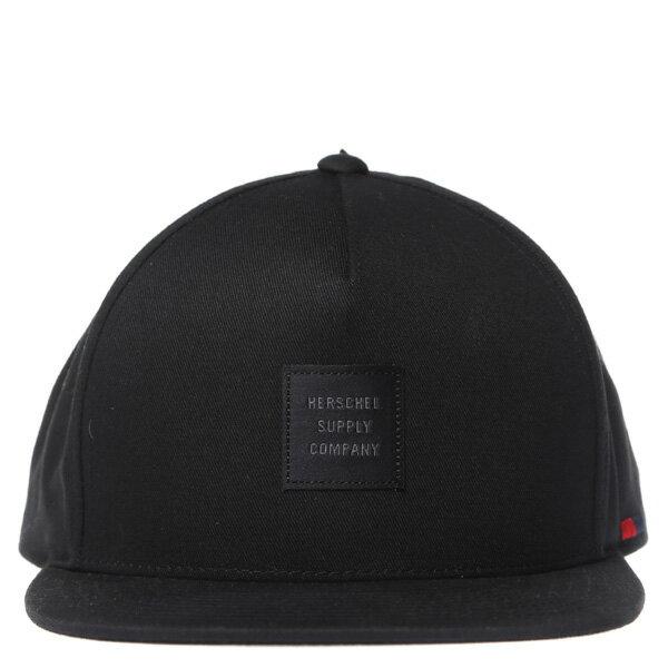 【EST】HERSCHEL WHALER ID 黑標 後調式 棒球帽 黑 [HS-1054-001] G0208 1