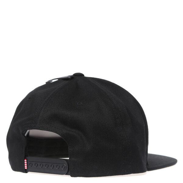 【EST】HERSCHEL WHALER ID 黑標 後調式 棒球帽 黑 [HS-1054-001] G0208 2