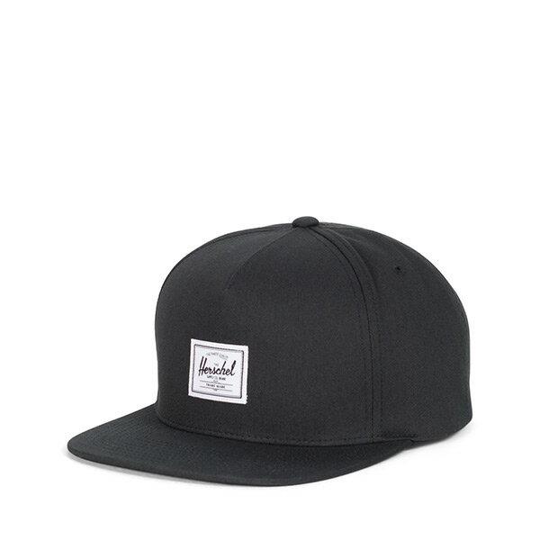 【EST】Herschel Dean Cap 後扣棒球帽 黑 [HS-1081-001] H0112