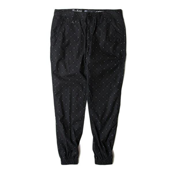 【EST】Publish D1 Faxon Jogger 3M反光 點點 格紋 長褲 束口褲 黑 [PL-5352-002] F1102 0