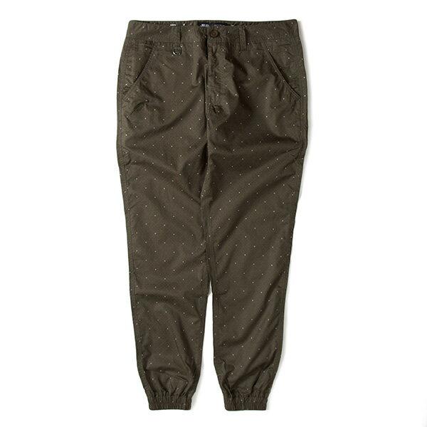 【EST】PUBLISH D1 FAXON JOGGER 3M反光 點點 格紋 長褲 束口褲 墨綠 [PL-5352-035] F1102 0