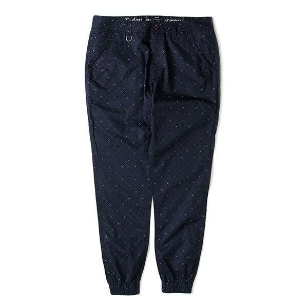 【EST】Publish D1 Faxon Jogger 3M反光 點點 格紋 長褲 束口褲 深藍 [PL-5352-086] F1102 0