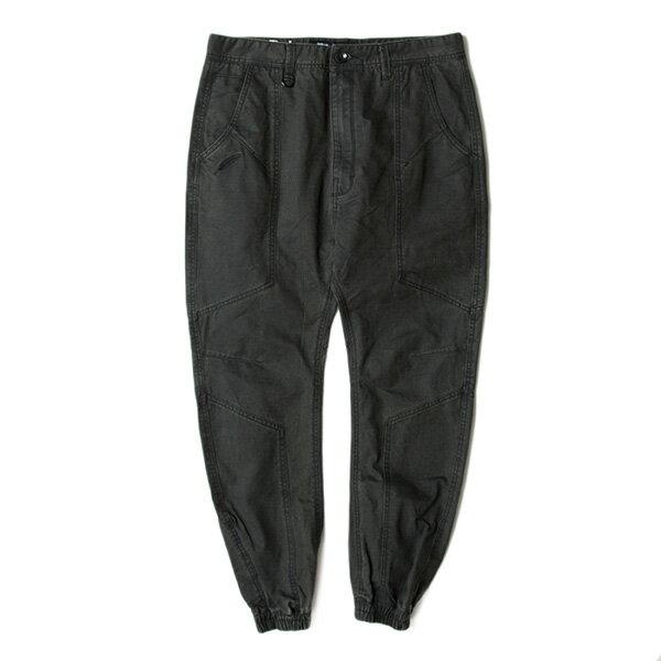 【EST】Publish D1 Rich Jogger 水洗 縫線 工作褲 長褲 束口褲 深灰 [PL-5353-007] F1102 0