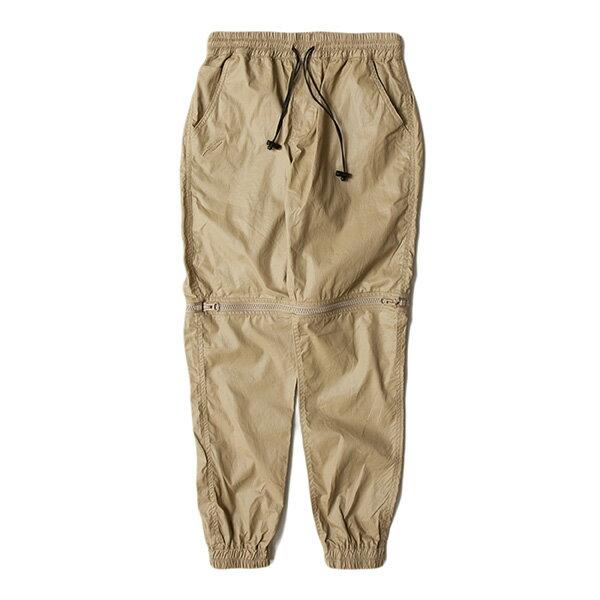 【EST】Publish D1 Hester Jogger 拉鍊 兩件式 短褲 長褲 束口褲 卡其 [PL-5354-537] F1102 0