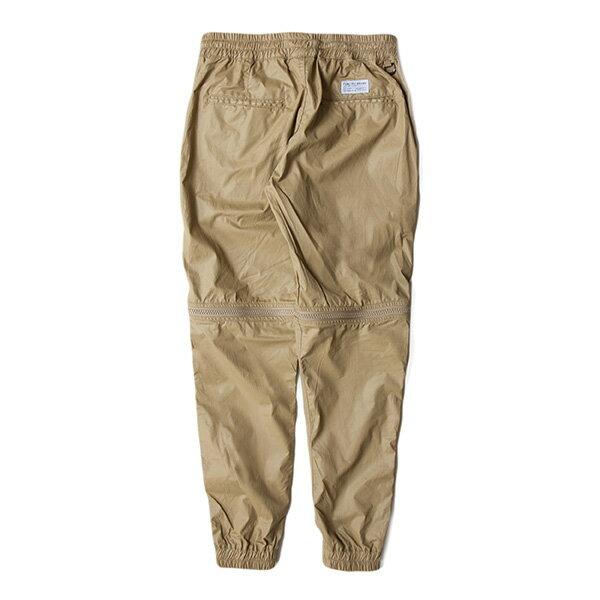 【EST】Publish D1 Hester Jogger 拉鍊 兩件式 短褲 長褲 束口褲 卡其 [PL-5354-537] F1102 1