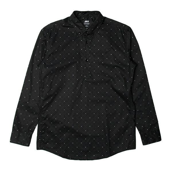 【EST】Publish D1 Stanley 3M反光 點點 格紋 防水 抗汙 長袖 襯衫 黑 [PL-5356-002] F1102 0