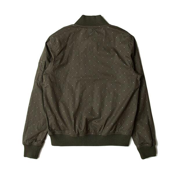 【EST】PUBLISH D1 ROSH 3M反光 點點 格紋 棒球外套 夾克 墨綠 [PL-5362-035] F1102 1