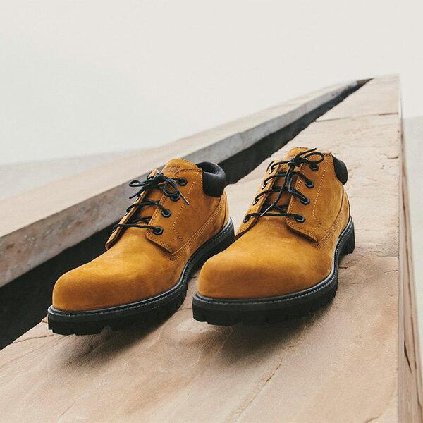 【EST】Timberland x Publish 聯名 Oxfords 經典 防水 牛津鞋靴 卡其 [PL-5379-537] F1225 3