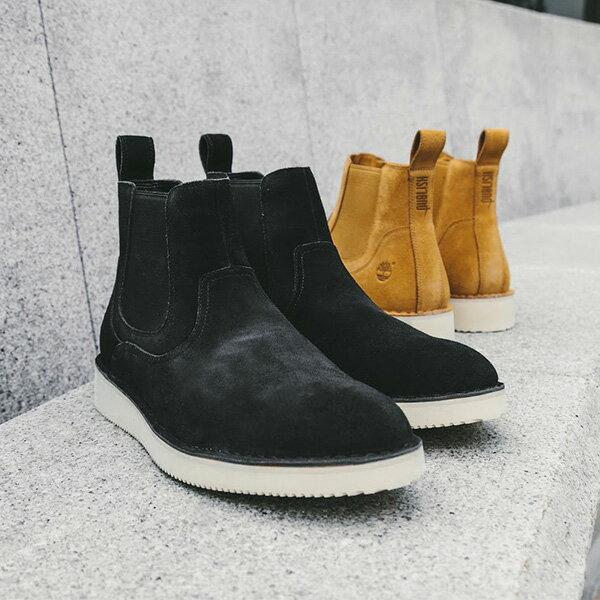 【EST】Timberland x Publish 聯名 CHELSEA 高筒 麂皮 切爾西靴 [PL-5380-002] 黑 F12125 4