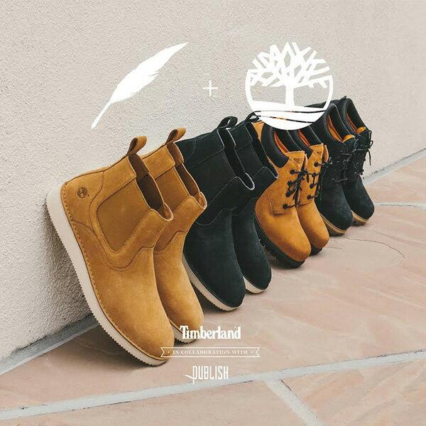 【EST】Timberland x Publish 聯名 CHELSEA 高筒 麂皮 切爾西靴 [PL-5380-002] 黑 F12125 6