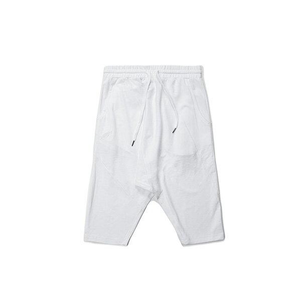 【EST】Publish Serge 綁帶 短褲 五分褲 白 [PL-5406-001] G0503 0