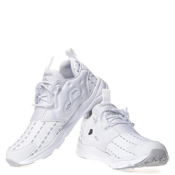 【EST】REEBOK FURYLITE NEW WOVEN V70797 編織 慢跑鞋 男女鞋 白 [RE-4032-001] G0414 2