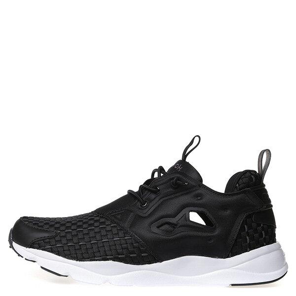 【EST】Reebok Furylite New Woven V70798 編織 慢跑鞋 男女鞋 黑 [RE-4032-002] G0414 0