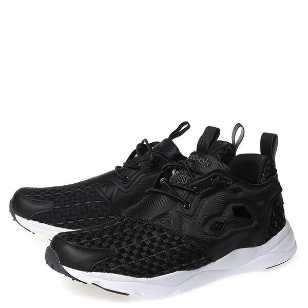 【EST】Reebok Furylite New Woven V70798 編織 慢跑鞋 男女鞋 黑 [RE-4032-002] G0414 1