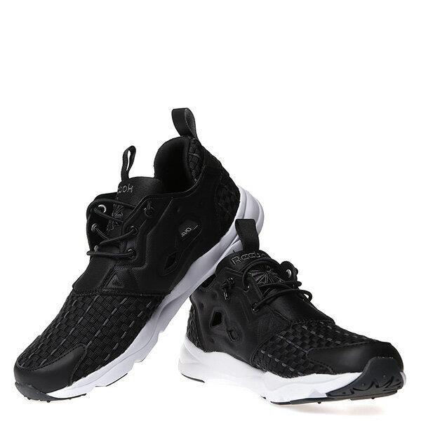 【EST】Reebok Furylite New Woven V70798 編織 慢跑鞋 男女鞋 黑 [RE-4032-002] G0414 2