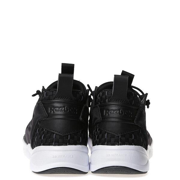 【EST】Reebok Furylite New Woven V70798 編織 慢跑鞋 男女鞋 黑 [RE-4032-002] G0414 3