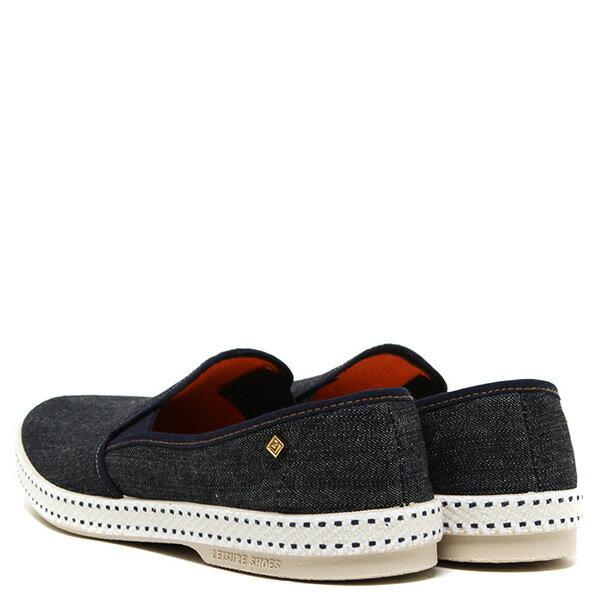 【EST】Rivieras 10度° 1054 丹寧 牛仔 懶人鞋 深藍 [RV-1054-086] F0330 2
