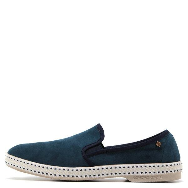 【EST】RIVIERAS 10度° 1144 麂皮 懶人鞋 海軍藍 [RV-1144-086] F0330 0
