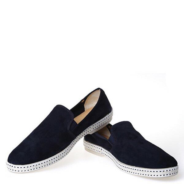 【EST】Rivieras 10度° 1154 麂皮 懶人鞋 藍 [RV-1154-086] F0330 2