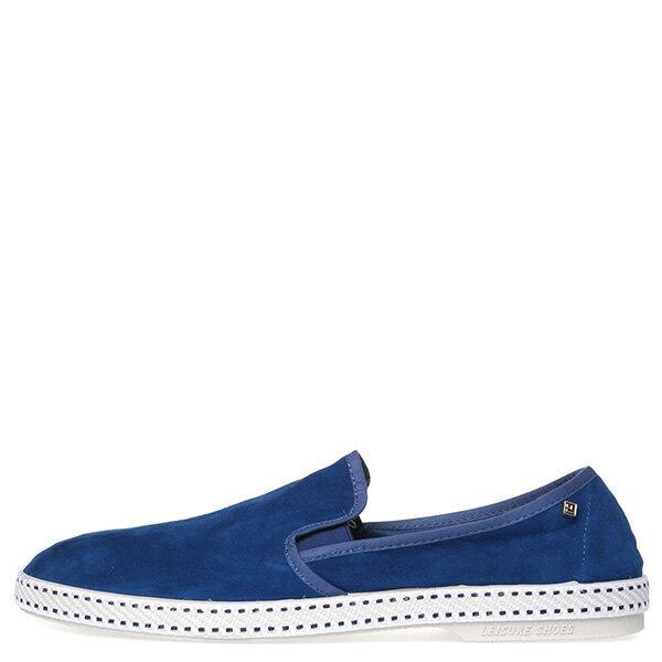 【EST】Rivieras 10度° 1156 麂皮 懶人鞋 藍 [RV-1156-086] F0422 0