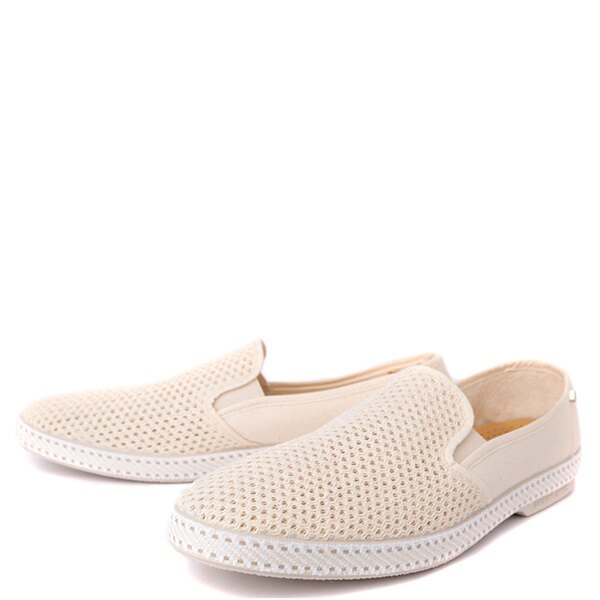 【EST】RIVIERAS 20度° 2002 半洞洞 懶人鞋 米白 [RV-2002-022] F0330 1