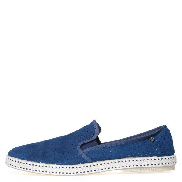 【EST】RIVIERAS 30度° 3036 洞洞 麂皮 懶人鞋 藍 [RV-3036-488] F0805 0