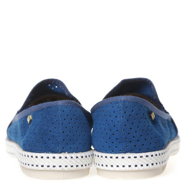 【EST】Rivieras 30度° 3036 洞洞 麂皮 懶人鞋 藍 [RV-3036-488] F0805 3