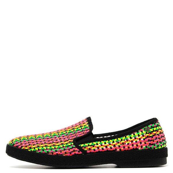 【EST】Rivieras 30度° 3113 洞洞 編織 懶人鞋 彩虹 螢光 黑底 [RV-3113-002] F0330 0
