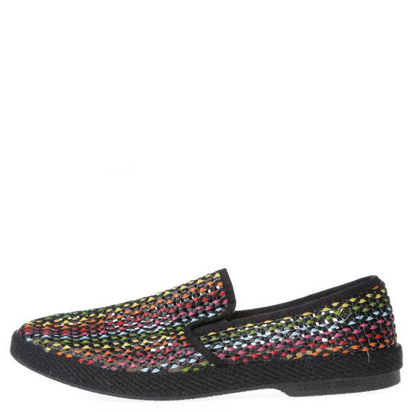 【EST】Rivieras 30度° 3123 洞洞 編織 懶人鞋 彩虹 黑底 [RV-3123-002] F0406 0