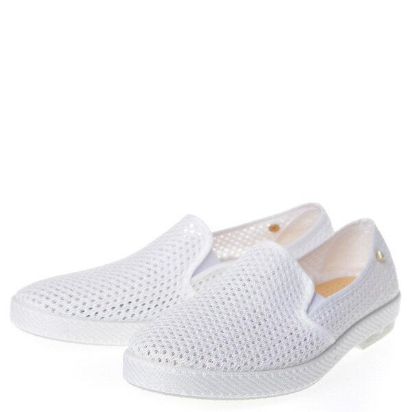 【EST】Rivieras 30度° 3200 洞洞 懶人鞋 白 [RV-3200-001] F0406 1