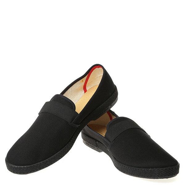 【EST】RIVIERAS 10度° 9181 帆布 懶人鞋 黑 [RV-9181-002] G0428 2