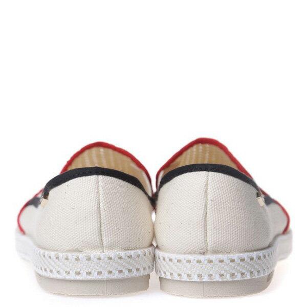 【EST】RIVIERAS 20度° 9201 半洞洞 懶人鞋 米白底 紅黑線 [RV-9201-001] F0330 4
