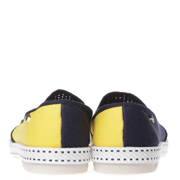 《限時5折↘免運》【EST】Rivieras 20度° 9208 半洞洞 拼接 懶人鞋 藍黃 [RV-9208-086] F0406 3