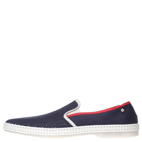 【EST】RIVIERAS 20度° 9226 半洞洞 懶人鞋 藍紅線 [RV-9226-086] F0330 0