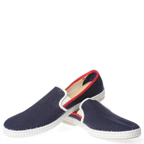 【EST】RIVIERAS 20度° 9226 半洞洞 懶人鞋 藍紅線 [RV-9226-086] F0330 2