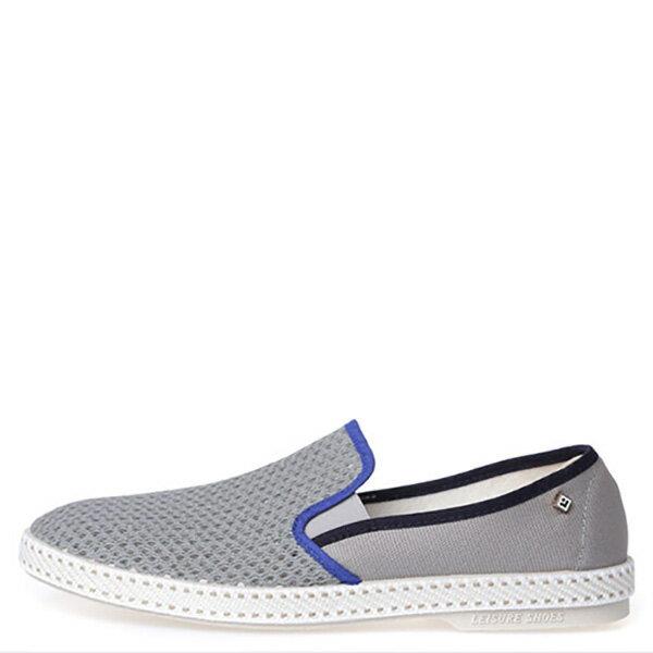 【EST】Rivieras 20度° 9229 半洞洞 懶人鞋 灰藍線 [RV-9229-007] F0330 0