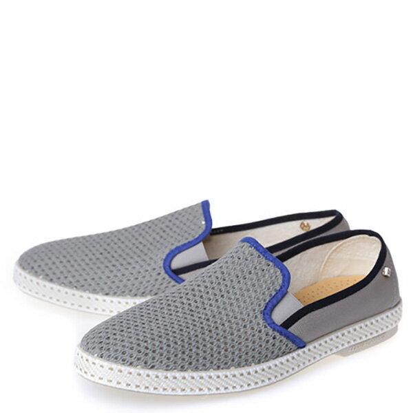 【EST】Rivieras 20度° 9229 半洞洞 懶人鞋 灰藍線 [RV-9229-007] F0330 1