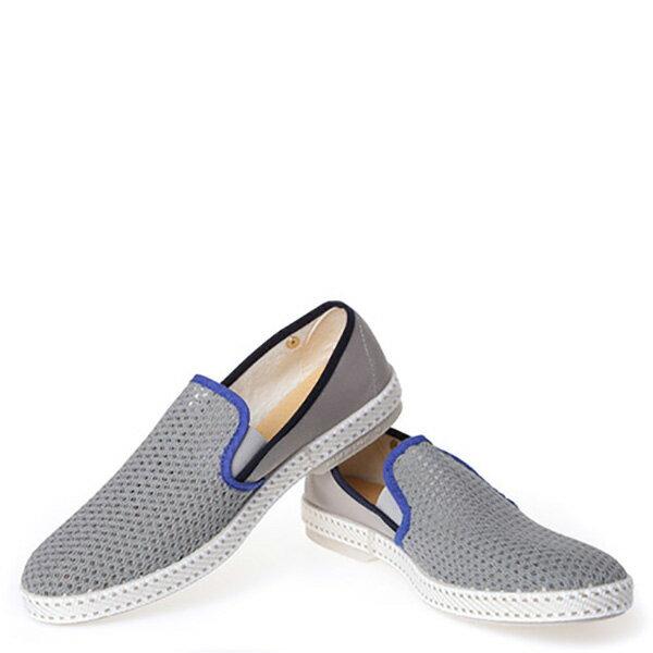 【EST】Rivieras 20度° 9229 半洞洞 懶人鞋 灰藍線 [RV-9229-007] F0330 2