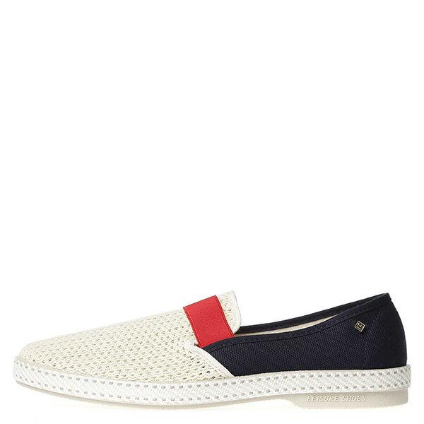 【EST】RIVIERAS 20度° 9270 半洞洞 拚色 懶人鞋 白紅藍 [RV-9270-XXX] G0428 0