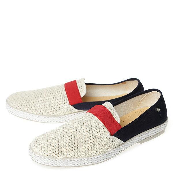 【EST】Rivieras 20度° 9270 半洞洞 拚色 懶人鞋 白紅藍 [RV-9270-XXX] G0428 1