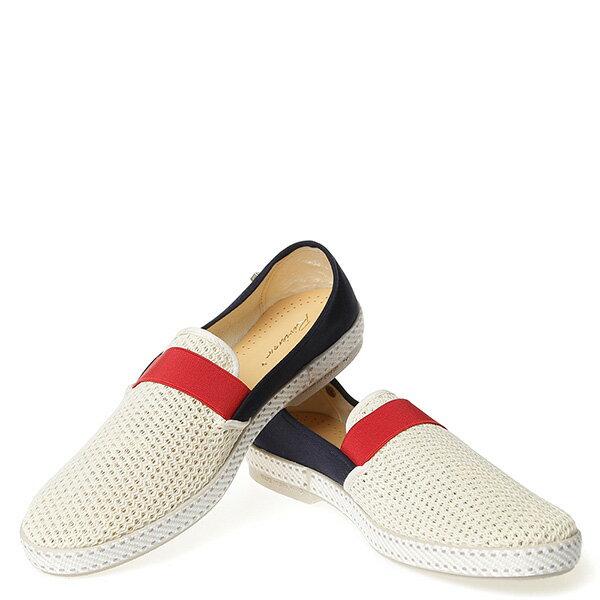 【EST】RIVIERAS 20度° 9270 半洞洞 拚色 懶人鞋 白紅藍 [RV-9270-XXX] G0428 2