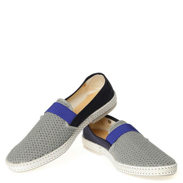 【EST】RIVIERAS 20度° 9272 半洞洞 拚色 懶人鞋 白灰藍 [RV-9272-XXX] G0428 2