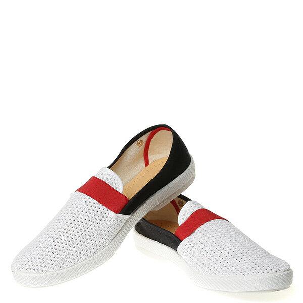 【EST】Rivieras 20度° 9281 半洞洞 拚色 懶人鞋 黑紅白 [RV-9281-XXX] G0428 2