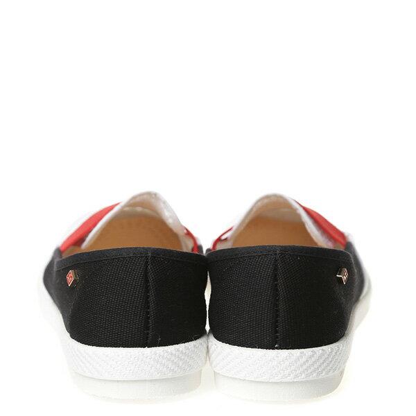 【EST】Rivieras 20度° 9281 半洞洞 拚色 懶人鞋 黑紅白 [RV-9281-XXX] G0428 3